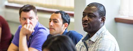 Bristol MBA students in the classroom