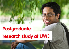 Postgraduate research study at UWE