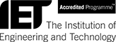 IET (The Institution of Engineering and Technology) logo