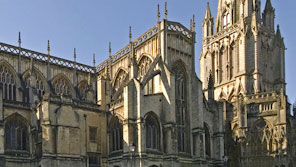 Bristol Cathedral in the sunshine