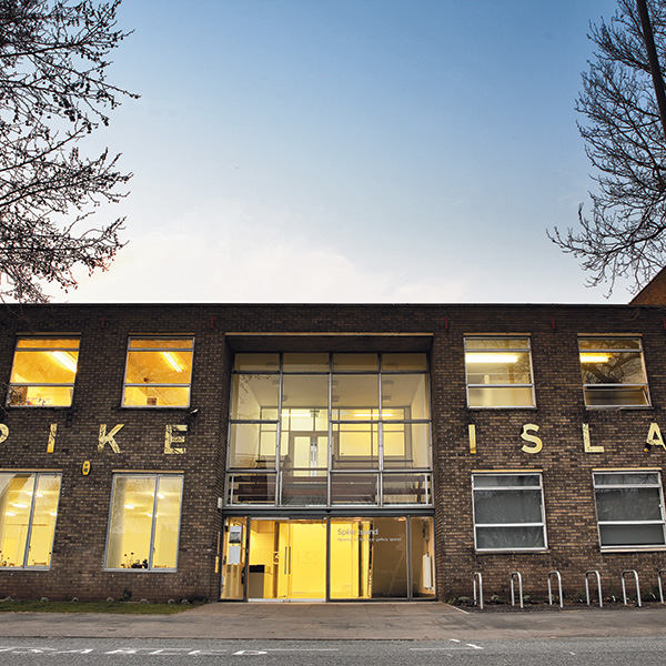 External view of Spike Island part of UWE Bristol's City Campus