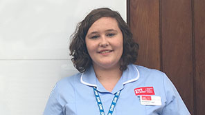 Kimberley - Adult Nursing degree student at Gloucester Campus