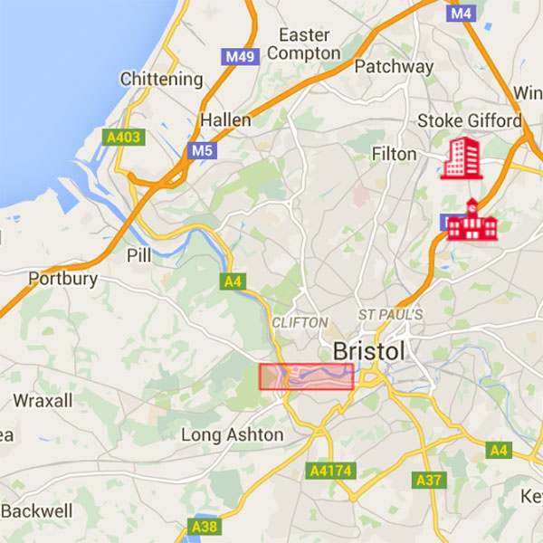 Map Of Uk Bristol.Visit Us Uwe Bristol About