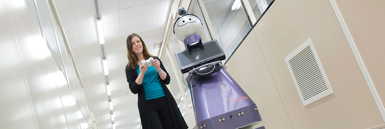 An prototype robot from the Assisted Living project
