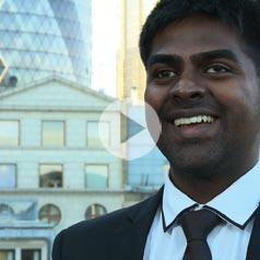 Benson's goal was always to build a career in IT. He now works in London with the best in the field of cloud-based computing.
