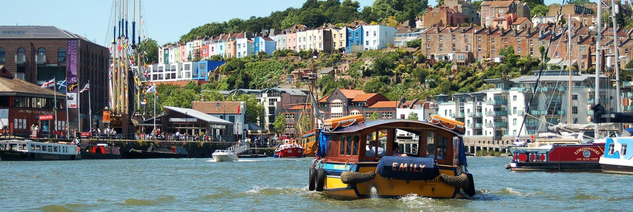Bristol's historic harbour