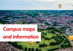 Campus maps and information