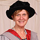 Honorary graduate Cathy Winter