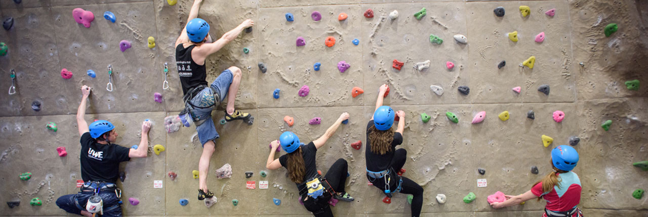 Climbing Wall Uwe Bristol Centre For Sport