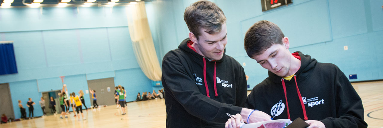 Sports and coaching education at the Centre for Sport