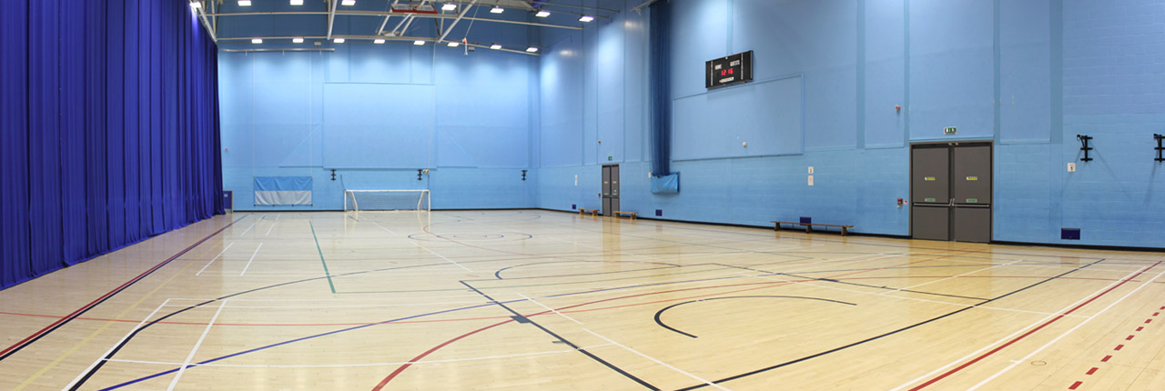Sports Hall At The Centre For Sport Uwe Bristol Centre