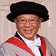 Honorary graduate David Hong Tsung Lan