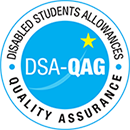 Disabled Students Allowances quality assurance DSA-QAG logo