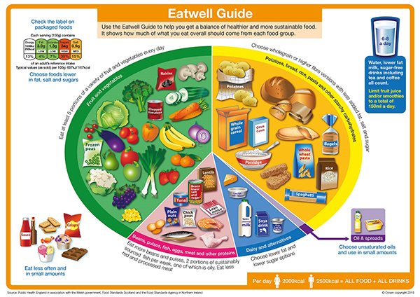 Eatwell Plate guide