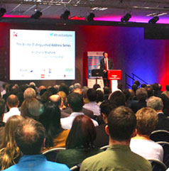 Large event taking place in the ECC at UWE Bristol