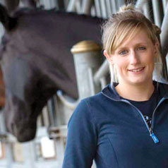 Emma - Equine Science student at UWE Bristol