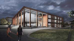 Engineering Building artists impression