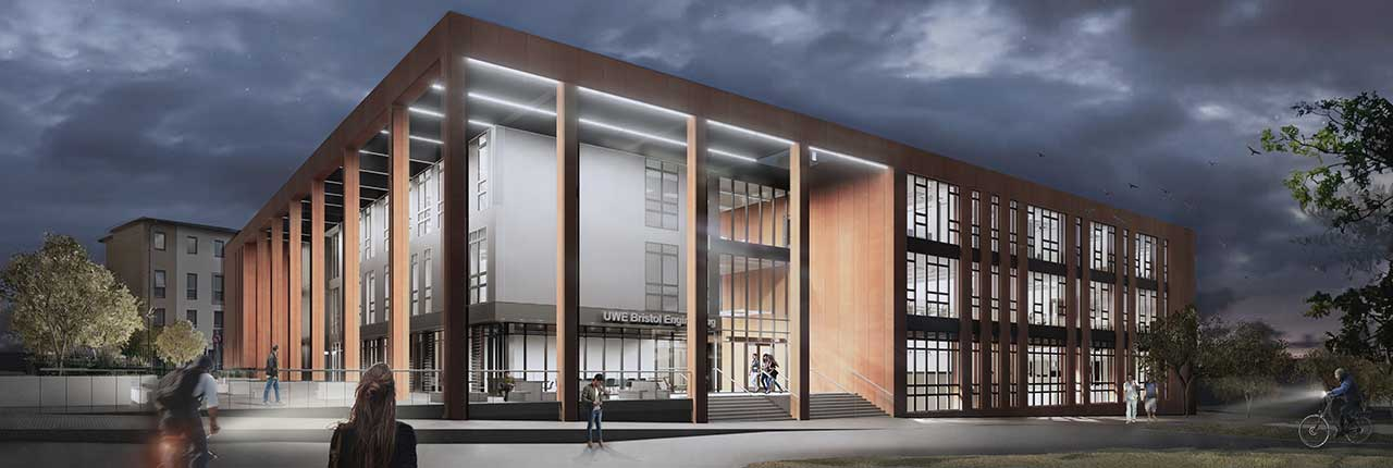 Engineering building - UWE Bristol: Campus developments