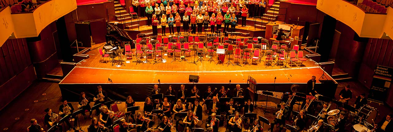 Festival of Sound concert at Colston Hall