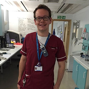 Harry - studied Diagnostic Imaging at UWE Bristol
