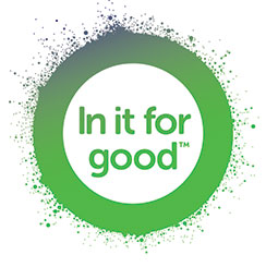 In it for good logo