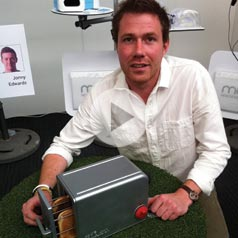 Product Design graduate James won a prestigious RSA Student Design Award for his innovative take on the humble toaster.