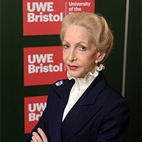 Lady Barbara Judge CBE at her Bristol Distinguished Address at UWE Bristol