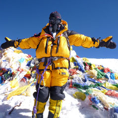 UWE helped Mollie realise her dream of climbing Mount Everest, making her one of the youngest British women to reach the summit.