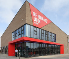 The new Students' Union building at UWE Bristol