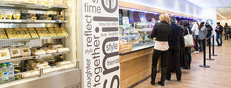Onezone Frenchay Campus - catering outlets