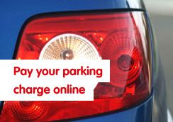 Pay your parking charge online