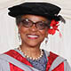 Honorary graduate Peaches Golding