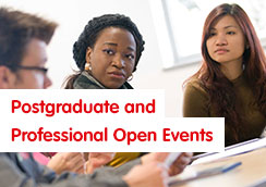 Postgraduate and Professional Open Events