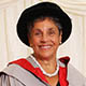 Honorary graduate Rosalind Wright