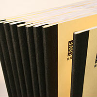 Example of tape binding