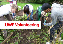 UWE volunteering